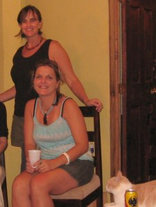 Barbara and me on November 7, 2010, three weeks before she disappeared.